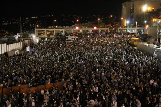 עשרות אלפים בעצרות הסליחות המרכזיות בכותל המערבי בערב ראש השנה