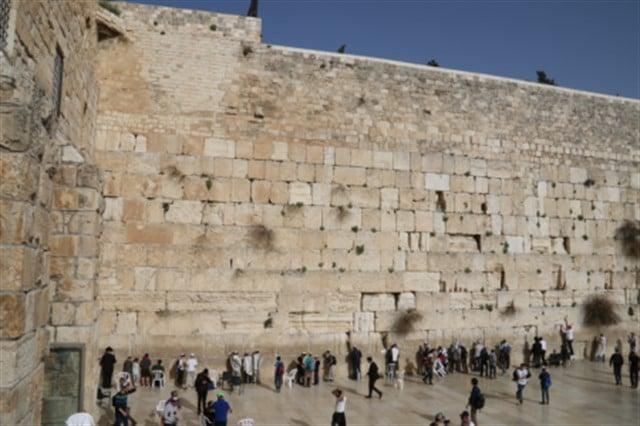 Children from Petach Tikva come to Jerusalem