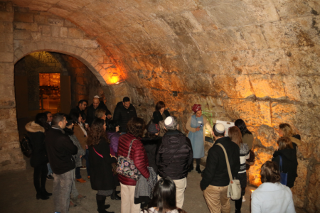 סיור במנהרות הכותל המערבי