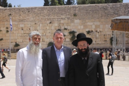 Speaker of the Knesset visited the Western Wall