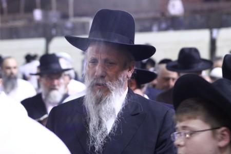 Rabbi Aryeh Harel, Shlita, visited the Western Wall
