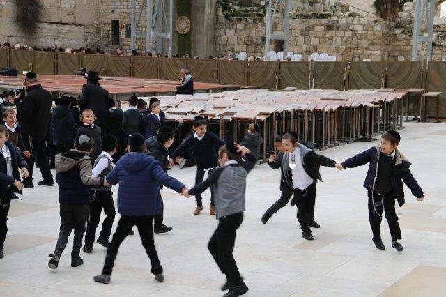 מסיבת סידור לתלמוד התורה חכמת שלמה מירושלים