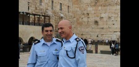 טקס חילופי מפקדי מחוז ירושלים התקיים הבוקר במנהרות הכותל המערבי