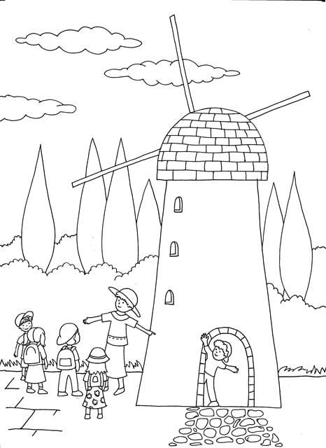 The Windmill at Yemin Moshe