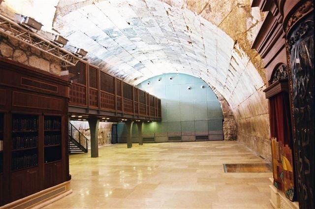 מי בנה את קשת וילסון שבמנהרות הכותל המערבי?
