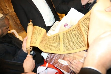 Eve of Purim at the Western Wall