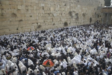 Birkat Kohanim (Priestly Blessing) for Passover 5778 (2018)