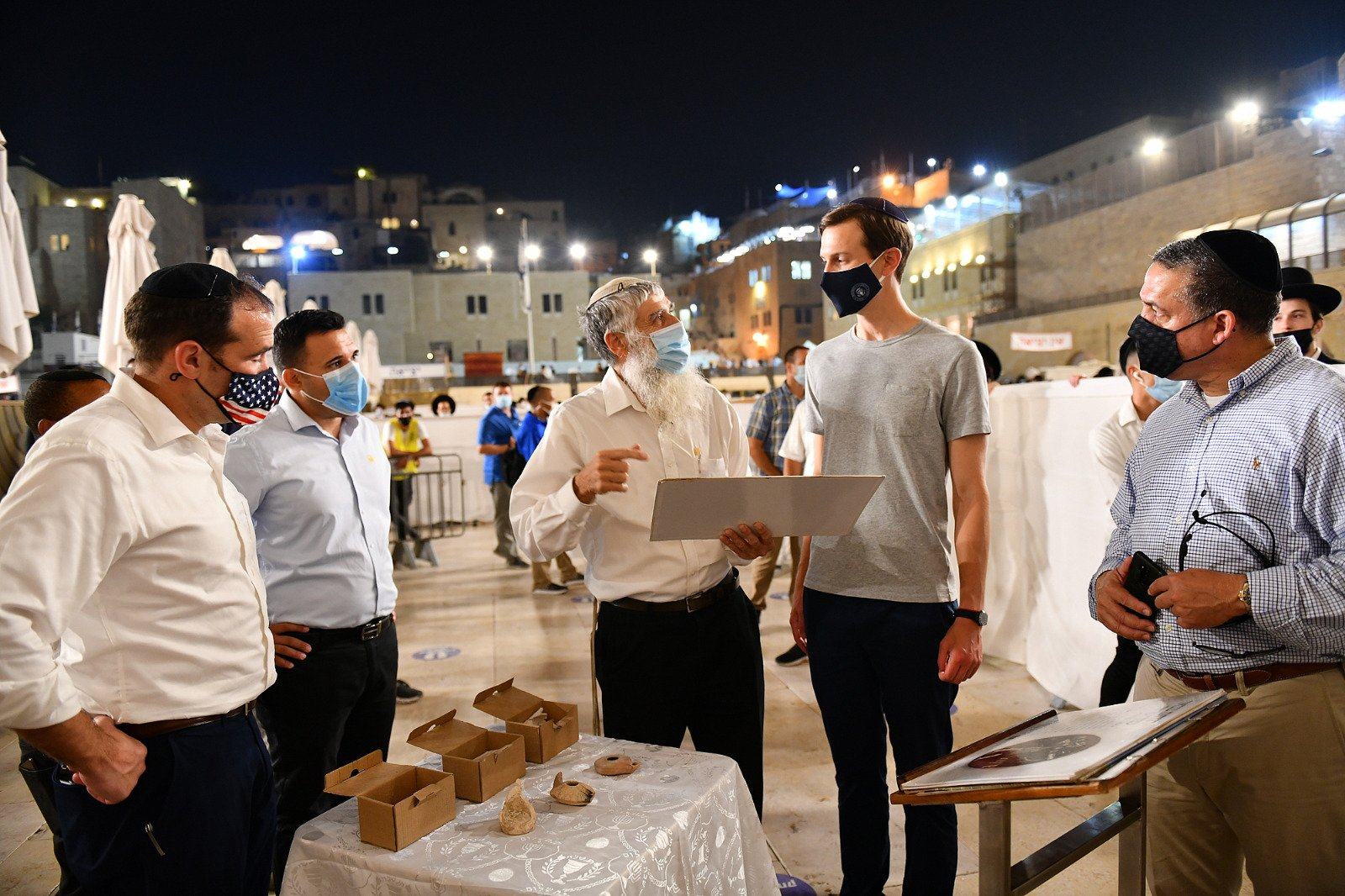 Delegation led by Jared Kushner, Senior Advisor to the President of the United States, visits the Western Wall, Western Wall Heritage Foundation