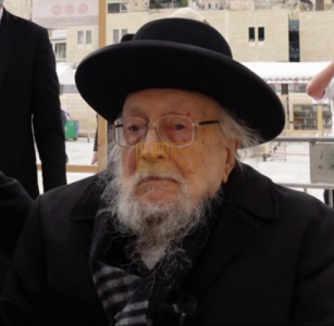היום נסתלק לבית עולמו זקן ראשי הישיבות הגאון הגדול רבי יצחק שיינר זצוק״ל