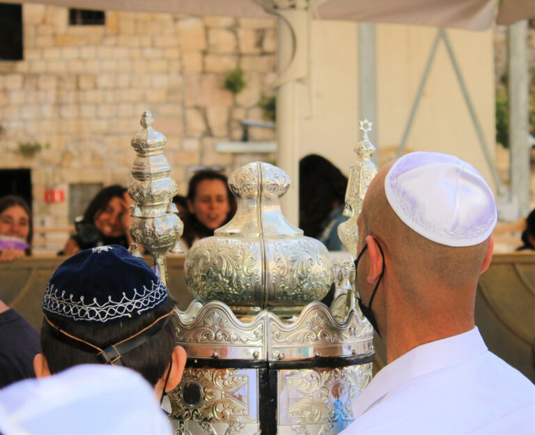 Throughout the year, we meet Holocaust survivors who come to celebrate their belated bar/bat mitzvah at the Western Wall.
