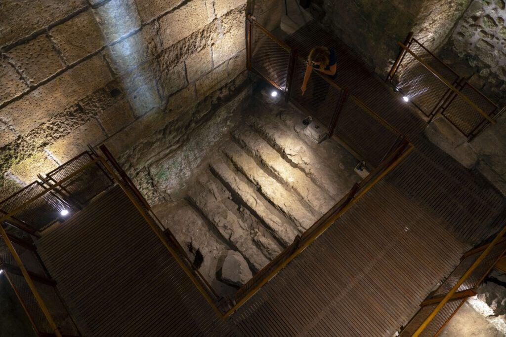 מסלול חדש חושף לציבור את אחד המבנים הציבוריים המפוארים ביותר שהתגלו מירושלים של תקופת בית שני
