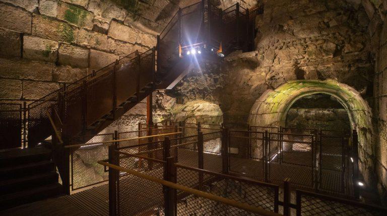 9. המסלול החדש במנהרות הכותל שייפתח למבקרים. צילום יניב ברמן רשות העתיקות